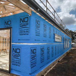 No Gap Insulation Wall Wrap