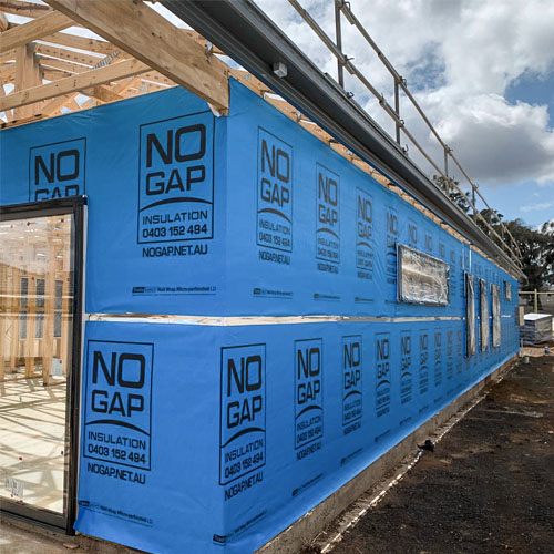 No Gap Insulation Wall Wrap
